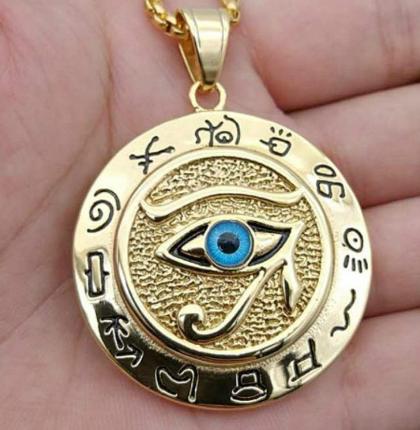 Udyat amuleto egipcio