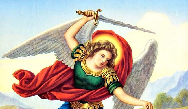 Amuleto de protección San Miguel Arcángel