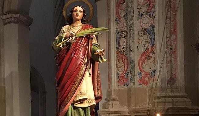 Santa Lucía y sus poderes