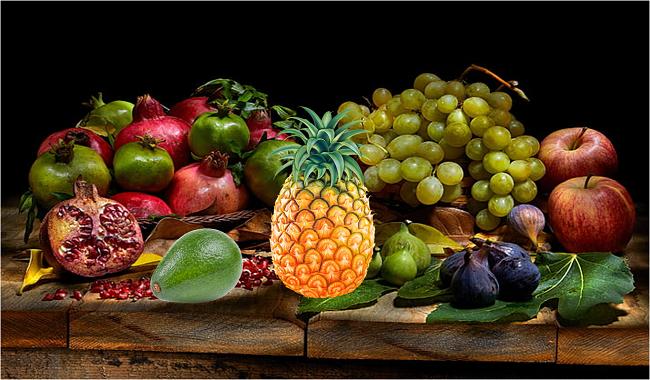 frutas de la suerte