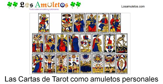cartas de tarot como amuletos personales