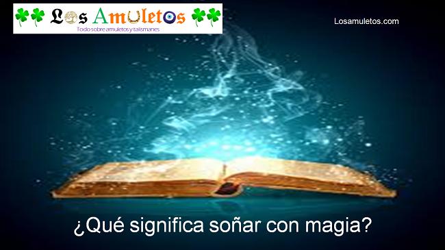 qué significa con magia