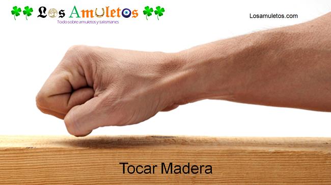 Tocar madera y su significado
